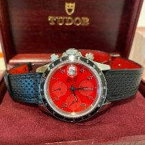 Tudor Prince Date Stahl 40mm Rot