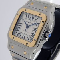 Cartier Santos Galbée Steel 32mm Silver Roman numerals United States of America, California, Los Angeles