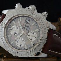 Breitling Chronomat Evolution Steel 43.7mm Grey