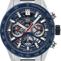 TAG Heuer Carrera new Automatic Chronograph Watch with original box CBG2011-BA0662