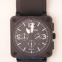 Bell & Ross BR 01-94 Chronographe Acero 46mm España, Barcelona