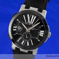 Ulysse Nardin Керамика Автоподзавод Чёрный 43mm подержанные Executive Dual Time