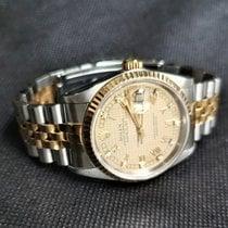 Rolex Datejust Χρυσός / Ατσάλι 36mm Χρυσό