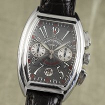Franck Muller Conquistador 8005.CC Very good Steel 40.5mm Automatic