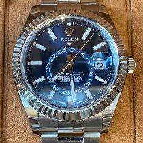 Rolex Sky-Dweller Acier 42mm Bleu Sans chiffres France, CAHORS
