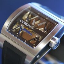 Corum Ti-Bridge Titan 41mm Proziran