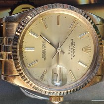 Rolex Oyster Perpetual Date Yellow gold 34mmmm No numerals Australia, bentley