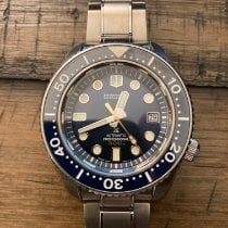 Seiko Marinemaster Steel 44.3mm Blue No numerals United States of America, Alabama, Trussville