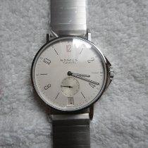 NOMOS Ahoi Datum Steel 40,3mm White Arabic numerals