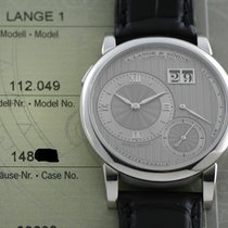 A. Lange & Söhne Lange 1 112.049 Very good Platinum 38.5mm Manual winding