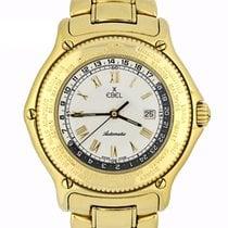 Ebel Voyager Желтое золото 38mm Белый Римские