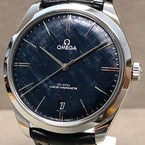 Omega De Ville Trésor Acél 40mm Kék Számjegyek nélkül