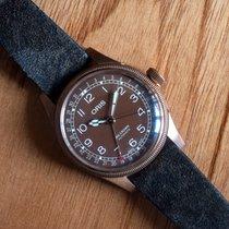 Oris Big Crown Pointer Date Bronze 40mm Brown Arabic numerals United Kingdom, Bolton