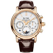 Patek Philippe Perpetual Calendar Chronograph Rose gold 40mm Silver No numerals United States of America, New York, New York
