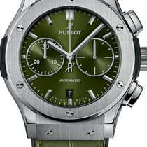 Hublot Classic Fusion Chronograph Titanium 45mm Green No numerals United States of America, Texas, Houston