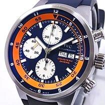 IWC Aquatimer Chronograph Steel 44mm Orange No numerals