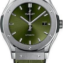 Hublot Classic Fusion 45, 42, 38, 33 mm Titanium 42mm Green No numerals United States of America, Texas, Houston
