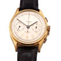 Chronographe Suisse Cie Gult gull 43,2mm Manuelt 4250 brukt