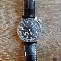 Longines Avigation Steel 45mm Black