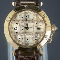 Cartier Pasha 1023 Very good Yellow gold 38mm Automatic