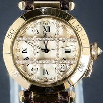 Cartier Pasha Or jaune 39mm Blanc Romains