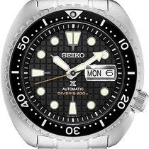 Seiko Prospex Steel 45mm Black No numerals United States of America, New Jersey, River Edge