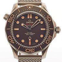 Omega Seamaster Diver 300 M nuevo 2019 Automático Reloj con estuche y documentos originales 210.90.42.20.01.001