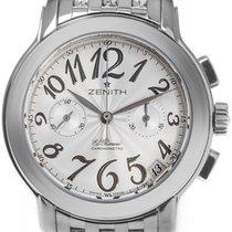 Zenith El Primero Chronomaster Lady Steel 37.5mm Silver Arabic numerals United States of America, New York, Greenvale