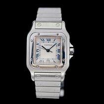 Cartier Santos Galbée Stahl 29mm Weiß Römisch Deutschland, Rosenheim