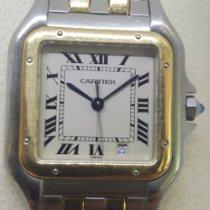 Cartier Panthère Zlato/Zeljezo 27mm Bjel Rimski brojevi