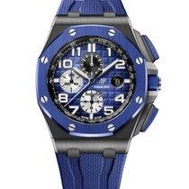 Audemars Piguet Ceramic Automatic Blue new Royal Oak Offshore Chronograph