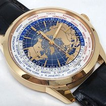 Jaeger-LeCoultre Geophysic Universal Time Oro rosa 41.6mm Azul Sin cifras