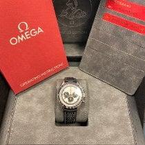 Omega Speedmaster Professional Moonwatch Steel 39.7mm White No numerals