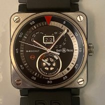 Bell & Ross BR 03-90 Grande Date et Reserve de Marche BR03-90 Very good Steel 42mm Automatic