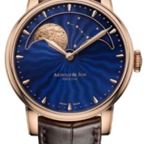 Arnold & Son Rose gold 42mm Manual winding Arnold & Son Moonphase new United States of America, Texas, McAllen