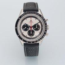 欧米茄 Speedmaster Professional Moonwatch 二手 39.7mm 银色 计时码表 皮