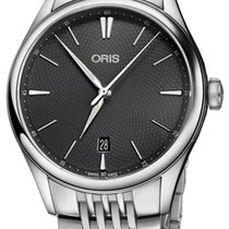 Oris Artelier Date Steel 40mm Grey United States of America, New York, Airmont