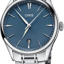 Oris Artelier Date Steel 40mm Blue United States of America, New York, Airmont