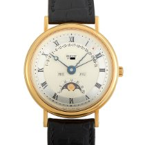 Breguet Classique Complications Yellow gold 36mm Silver Roman numerals United States of America, Pennsylvania, Southampton