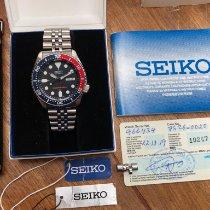 Seiko Prospex tweedehands 42mm Blauw Datum Staal