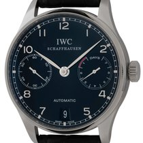 IWC Portuguese Automatic Steel 42mm Black Arabic numerals United States of America, Texas, Austin