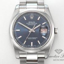 Rolex Lady-Datejust Acero 36mm Azul