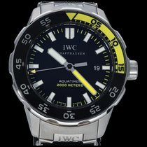 IWC Aquatimer Automatic 2000 Сталь 44mm Чёрный Без цифр