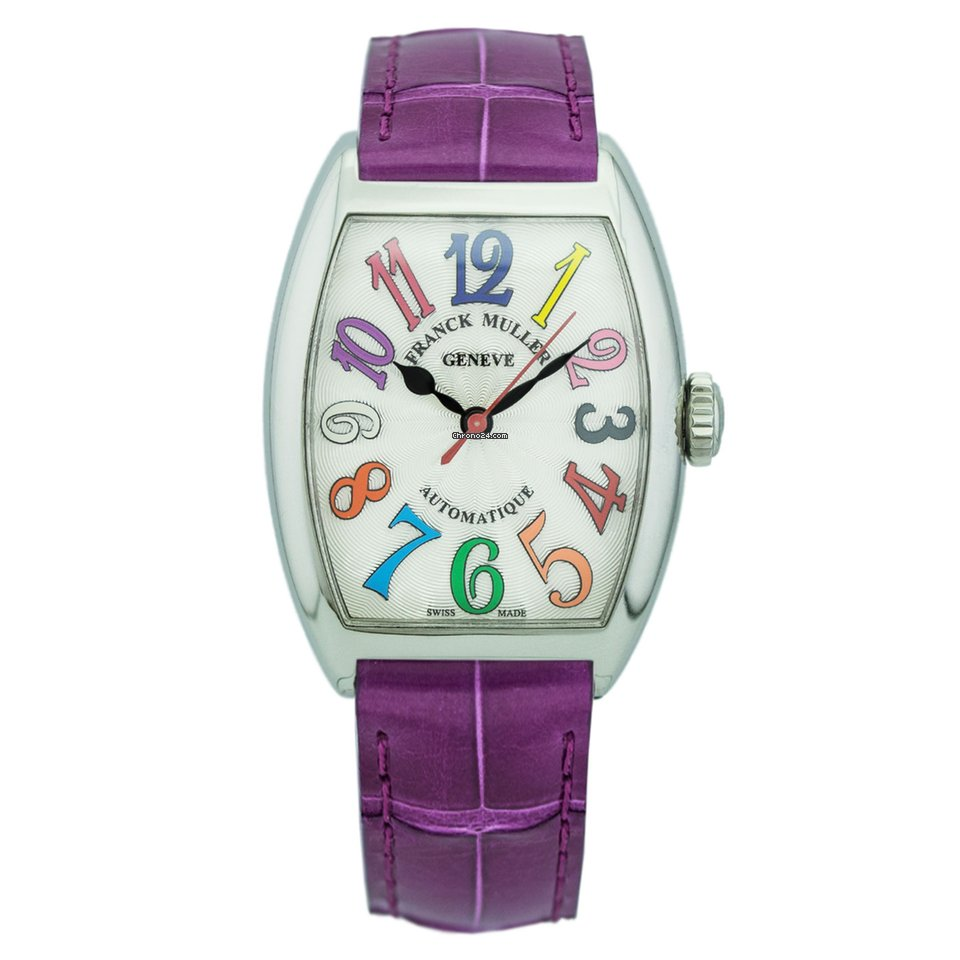Franck Muller Color Dreams 7500 SC AT FO COL DRM.SS or 7500SCATFOCOLDRM.SS new