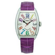 Franck Muller 7500 SC AT FO COL DRM.SS or 7500SCATFOCOLDRM.SS Steel Color Dreams 29mm new