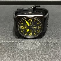 Bell & Ross BR 01-94 Chronographe Steel 51mm Black Arabic numerals
