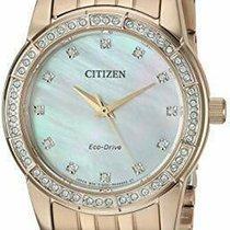 Citizen EM0773-54D Neuve Acier 31mm