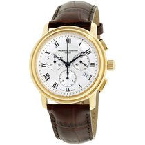 Frederique Constant Classics Chronograph Steel 40mm Silver Roman numerals United States of America, New Jersey, Somerset