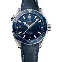 歐米茄 Seamaster Planet Ocean 鋼 43.5mm 藍色 阿拉伯數字
