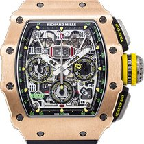 Richard Mille Rose gold 50mm Automatic RM 11-03 new